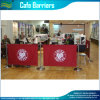 La publicité Cafe Obstacle/barrière de Breeze Banner Stand (M-NF22M01110)