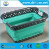 Drenando a cesta de lavagem plástica da fruta vegetal da cesta do filtro para a cozinha