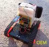Cadeira de rodas da trilha do controle de Remore da trilha do robô do tanque