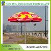 48 '' x8k que hacen publicidad del parasol de playa para la promoción