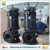 Elektrische vertikale versenkbare Abwasser-Scherblock-Pumpe für Teich