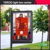 Étalage tournant debout de cadre de Mupis-Lumière de cadre léger de Lightbox-Défilement de défilement
