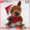 De Gift van het Ornament van Kerstmis van het Nieuwjaar van de pluche vulde Zacht Stuk speelgoed