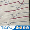 Tissu en matelas en jacquard en polyéthylène en bambou