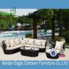 Mobilia di vimini del sofà del giardino di combinazione esterna del patio