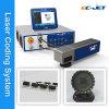 Imprimante laser À grande vitesse de non contact de fibre de machine d'impression de code barres (CEE-laser)