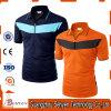 T-shirt van het Polo van de Koker van de Kleur van Mens de Stevige Korte met Katoen