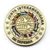 El esmalte de la aleación del cinc indica la moneda del recuerdo del indicador