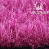 Hierba artificial del color de rosa de hierba de Multicolorful