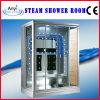 Sala de ducha de vapor de vidrio templado para una persona (A-0219)