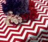 Tablecloths redondos & quadrados do Natal de Chevron do partido