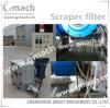 Umdrehungs-Schaber-Typ Schmelzfilter für die Plastikkörnchen, die Maschine herstellen