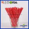 Одноразовые пластиковые красного цвета кофе, мини Stirrers мешалка соломы