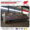 Remorque de camion-citerne de cadre de vente d'usine pour le chargement chimique de liquides