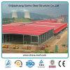 Prefab стальное промышленное здание хранения металла Hall полуфабрикат