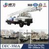 Установленная тележкой машина буровой установки добра воды на тележке Dfc-350A