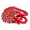 La moda Brazalete de ágata roja (GD-AC159)