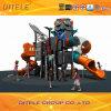 Navire spatial série d'équipement de terrain de jeux de plein air pour enfants (SPII-07401)
