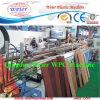 Chaîne de production en plastique en bois de panneau de PE de PVC de WPC