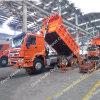 Sinotruk HOWO 6X4 5.8m 덤프 트럭 팁 주는 사람 트럭