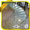 Glace Tempered d'usine de la Chine pour la pêche à la traîne d'escalier