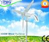 Горизонтальное 300W, 400W, 600W, 1000W, ветротурбина System 2000W 3kw Home
