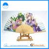 Levering voor doorverkoop van China van de Ventilator van de Hand van de Producten van het bamboe de Promotie