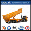 U  caldo Type Tipping Semi-Trailer con Front Lifting Cylinder