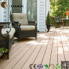 Decking composto resistente UV ao ar livre de venda superior