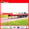 Eje 4 80-100ton Lowboy pesado camión de remolque cama baja