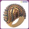 Nuevos 2013 anillos de la perla para la venta al por mayor del regalo de la promoción de las mujeres