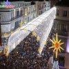 2017 décoration chaude de vacances de Noël de la vente DEL pour la voûte de rue
