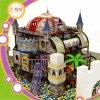 El castillo embroma el PE suave de interior del PVC del patio
