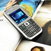 X8 faixa do quadrilátero de 2.2 polegadas telefone de pilha Qwerty da tevê da Tri-SIM