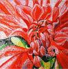 花のモザイク模様の芸術のモザイク(HMP607)