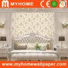 Papier peint blanc floral romantique avec Custom
