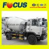 Bon petit camion de mélange de béton de Rhd de volume de la qualité 3m3
