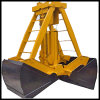 Mechanical Four Cable Grabs with Bridge Crane for Material Density 1-3.3