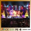 P8.928 visualización video de alquiler portable al aire libre de la cortina de la pared SMD LED