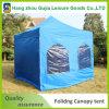 المعادن الترويجية قابلة للطي خيمة للطي أكشاك مع نسيج مقاوم للماء