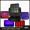 Rotation 무제한 25X12W 크리 말 LED Moving Head Matrix Blinder Light