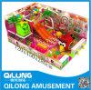 Установленная игра спортивной площадки малышей темы конфеты (QL-150522E)