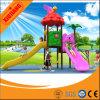 Cour de jeu extérieure personnalisée d'amusement extérieur multifonctionnel coloré de cour de jeu