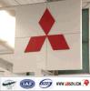 Выгравированные лазером знаки автомобиля автоматического крома дилерских полномочия акриловые