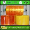 Het oranje en Gele Gordijn van de Strook van pvc van het anti-Insect Transparante