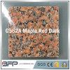 Natuurlijk Opgepoetst Rood Graniet/de Marmeren Tegel van de Bevloering van de Steen voor het Bedekken van de Vloer