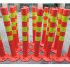 Advertencia de seguridad flexible 45cm post