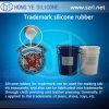 Borracha de silicone líquida de RTV para a fatura das marcas registradas
