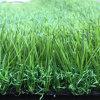 erba artificiale di paesaggio di densità Lfg10 di altezza 18900 di 18mm dalla parte posteriore del lattice di SBR con i fori di drenaggio