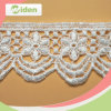 Wedding를 위한 장식적인 Lace Trim Embroidery Flower Designs Chemical Lace